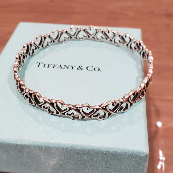 Tiffany & Co RARE Silver Picasso Loving Heart  ❤